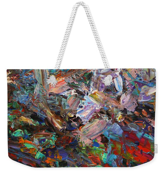 Paint Number 42-c Weekender Tote Bag