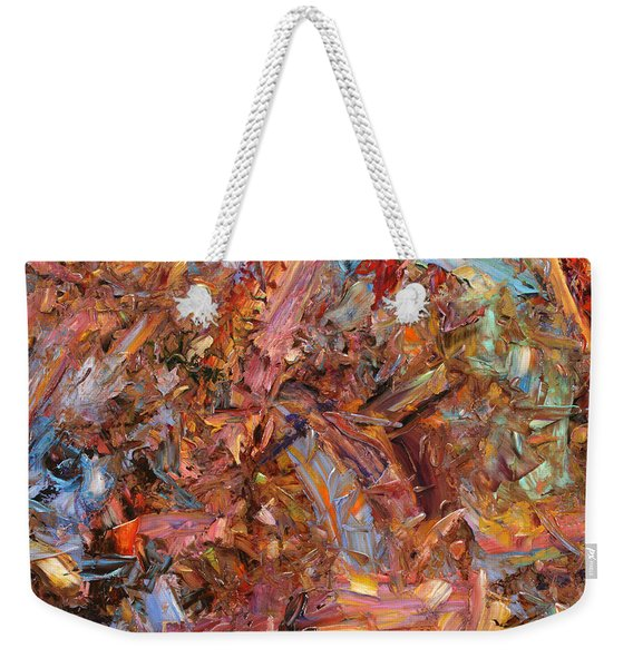 Paint Number 43b Weekender Tote Bag