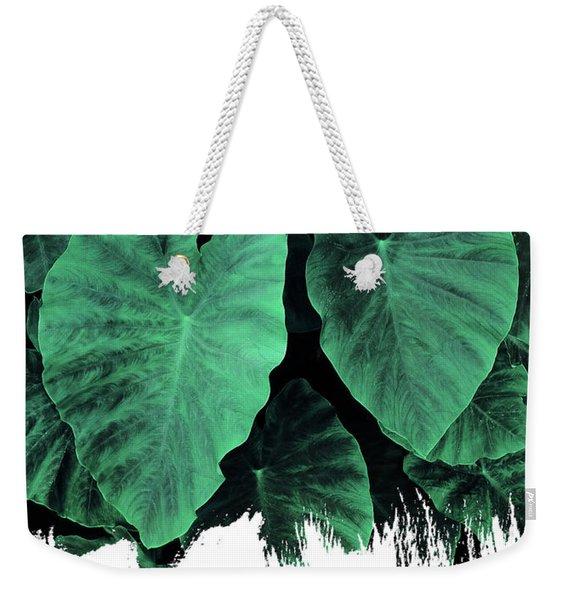 Paint On Jungle Weekender Tote Bag