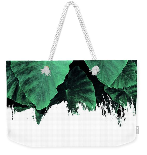 Paint On Jungle Weekender Tote Bag