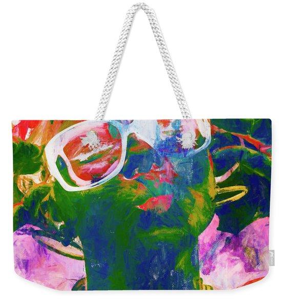 Paint Splash Pinup Art Weekender Tote Bag