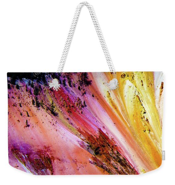 Painted Canyon Weekender Tote Bag