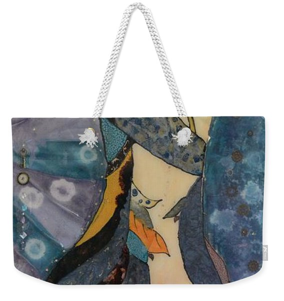 Painted Dancer Weekender Tote Bag
