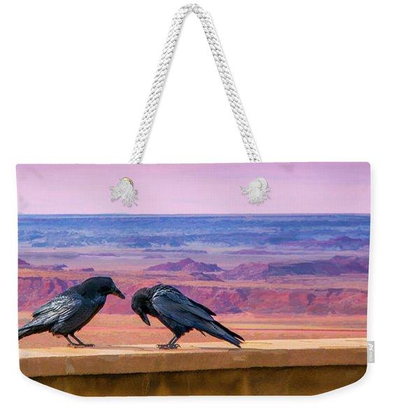 Painted Desert Pals Weekender Tote Bag