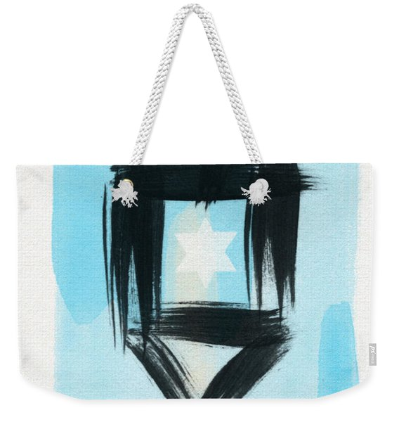 Painted Dreidel Happy Hanukkah- Design By Linda Woods Weekender Tote Bag