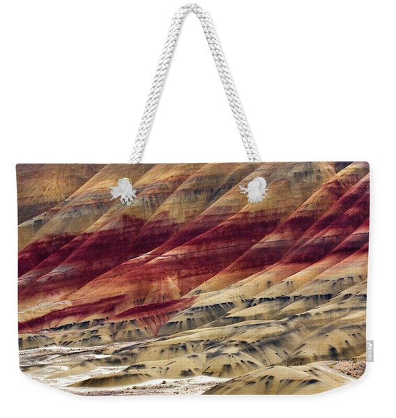 Painted Hills Contour Weekender Tote Bag