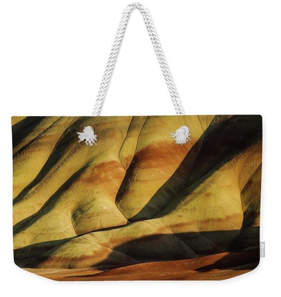 Painted In Gold Weekender Tote Bag
