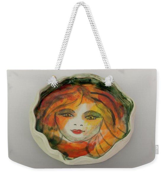 Painted Lady-1 Weekender Tote Bag