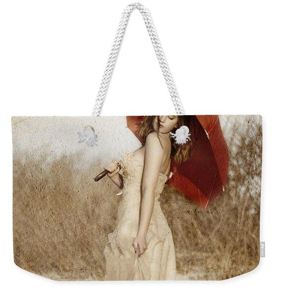 Painted Lady Narrow Weekender Tote Bag
