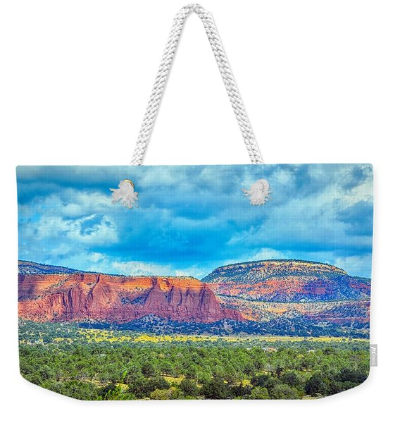 Painted New Mexico Weekender Tote Bag