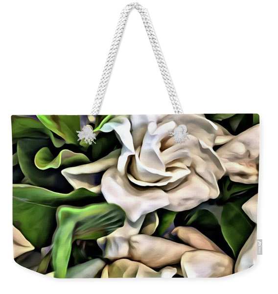 Painted Roses Weekender Tote Bag
