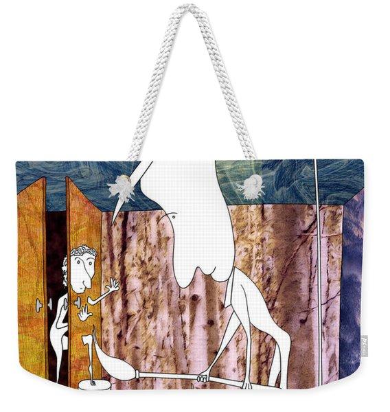 Painter Weekender Tote Bag