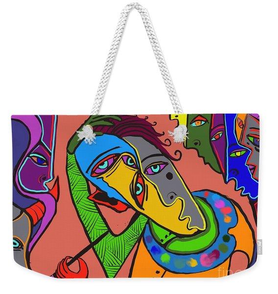 Painters Block Weekender Tote Bag
