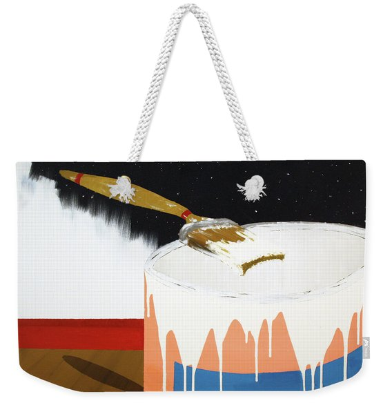 Painting Out The Sky Weekender Tote Bag