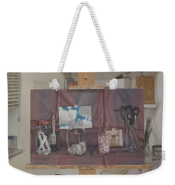 Painting Within A Painting Weekender Tote Bag