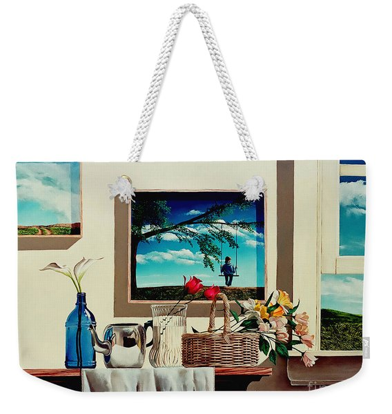 Paintings Within A Painting Weekender Tote Bag