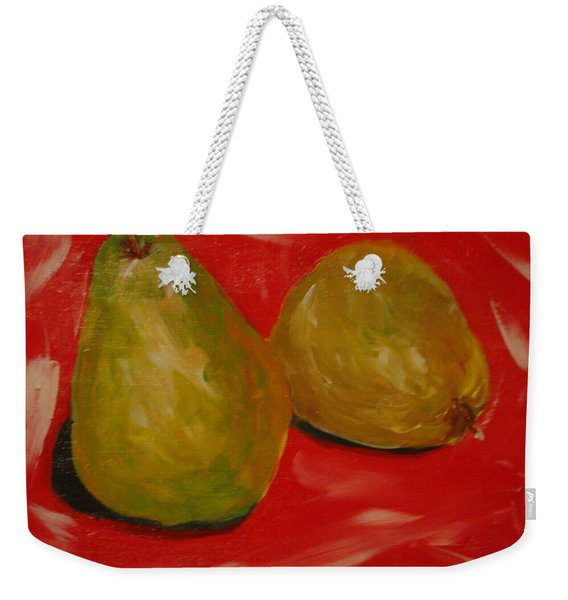 Pair Of Pears Weekender Tote Bag