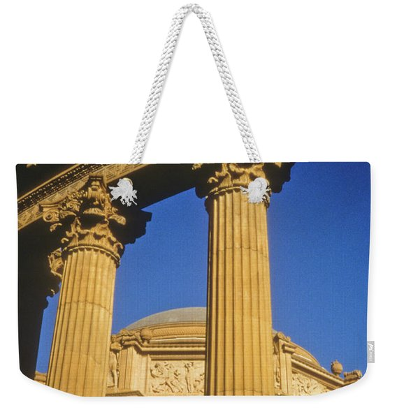 Weekender Tote Bag featuring the photograph Palace Of Fine Arts, San Francisco by Frank DiMarco