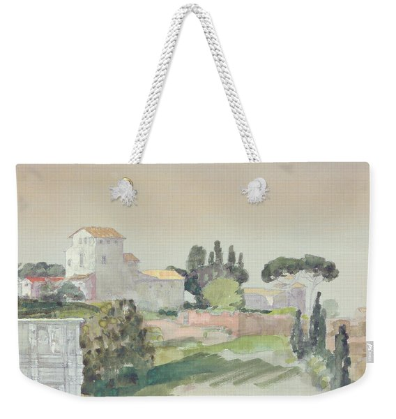 Palatine Hill From The Colosseum Weekender Tote Bag