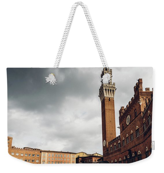 Palazzo Pubblico, Siena, Tuscany, Italy Weekender Tote Bag