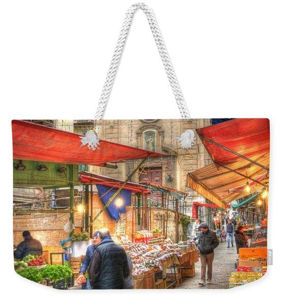 Palermo Market Place Weekender Tote Bag