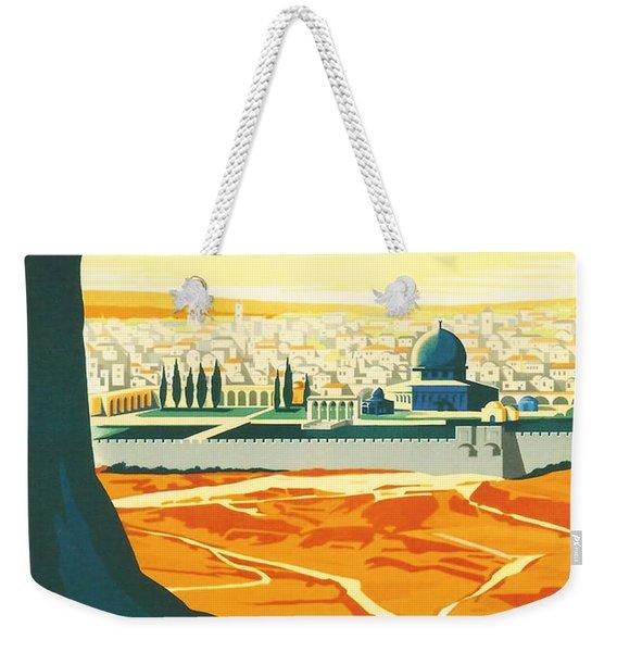 Palestine Weekender Tote Bag
