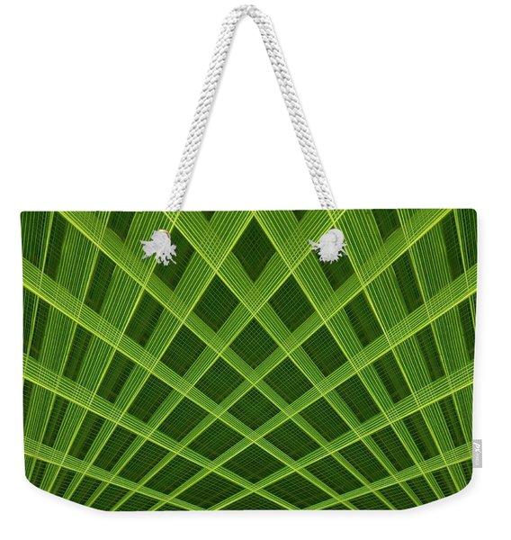 Palm Leaf Composite Weekender Tote Bag