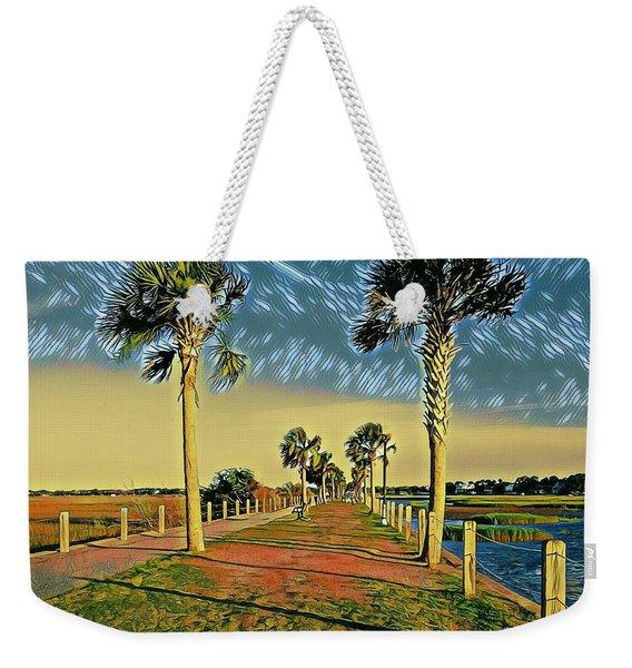 Palm Parkway Weekender Tote Bag