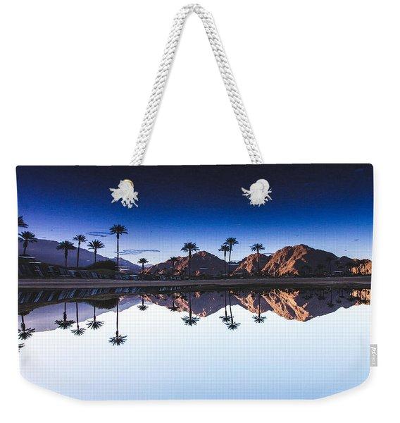Palm Springs Reflection Weekender Tote Bag