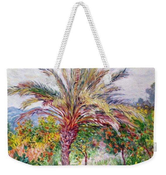 Palm Tree At Bordighera Weekender Tote Bag