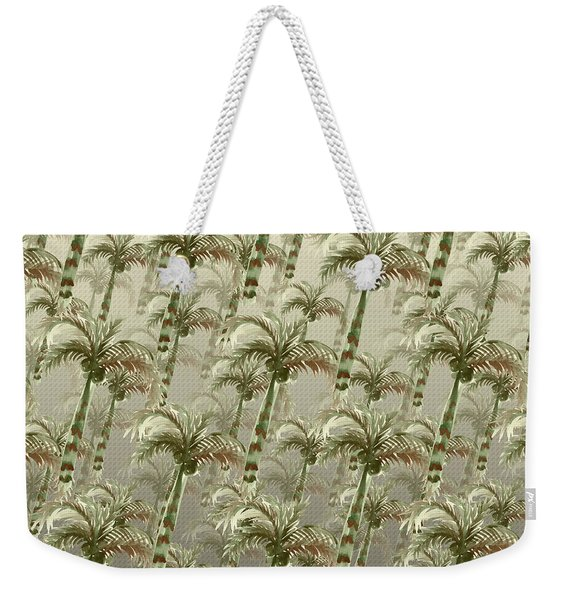Palm Tree Grove Weekender Tote Bag