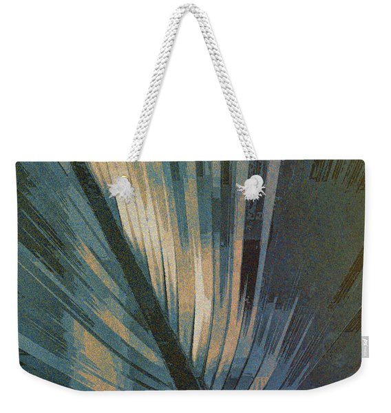 Palmetto Embrace-blue Gold Weekender Tote Bag