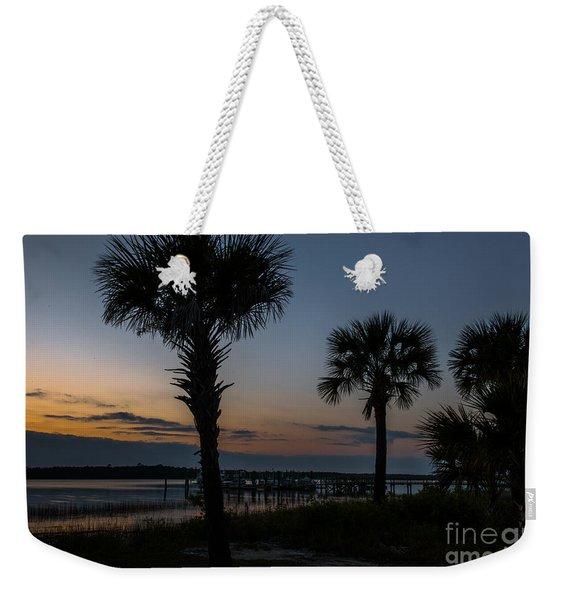 Palmetto Sky Weekender Tote Bag