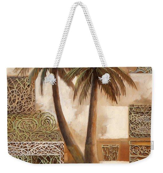 Palmotte Weekender Tote Bag