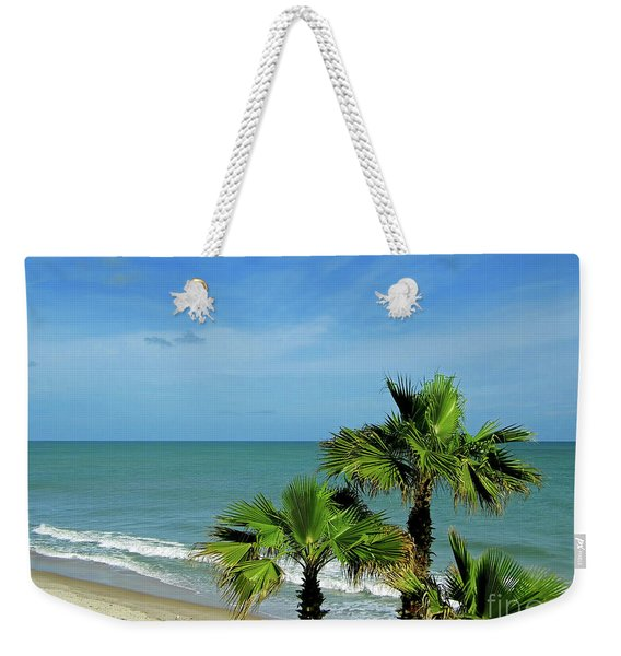 Palms At Vero Beach Weekender Tote Bag