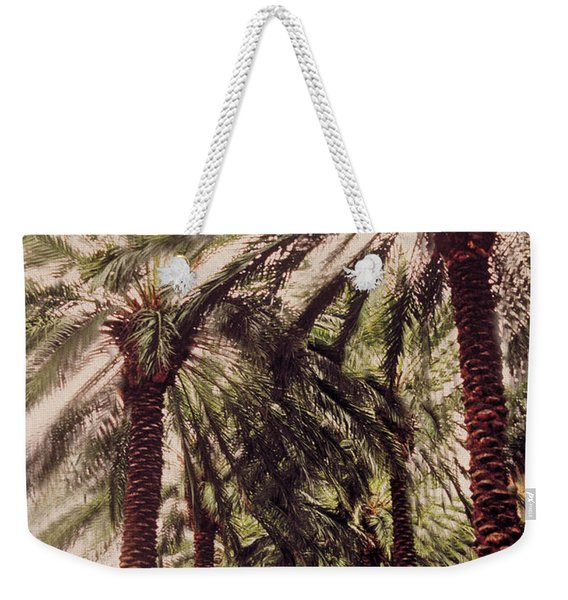 Palmtree Weekender Tote Bag