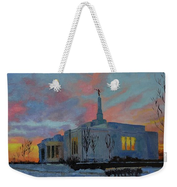 Palmyra Temple At Sunset Weekender Tote Bag