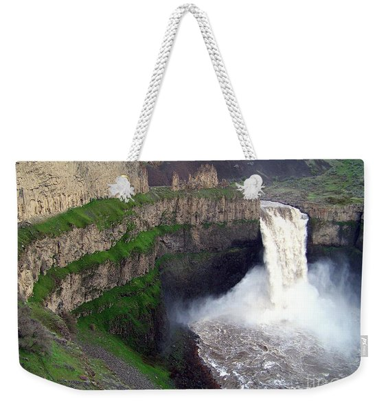 Palouse Falls - The Official Washington State Waterfall Weekender Tote Bag