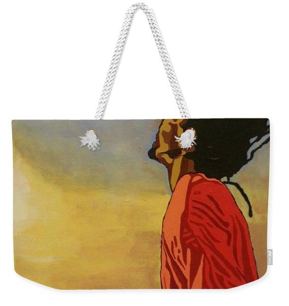 Pan Rising Weekender Tote Bag