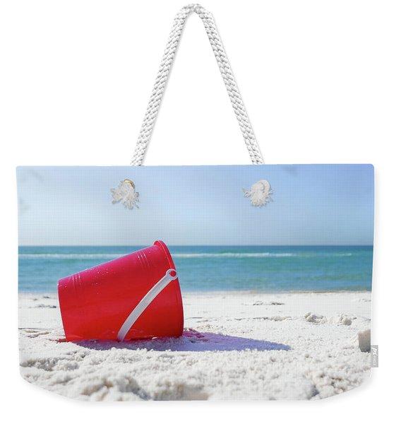 Panama Beach Florida Sandy Beach Weekender Tote Bag