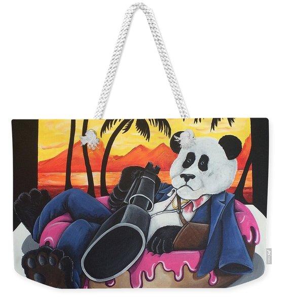 Panda Montana Weekender Tote Bag