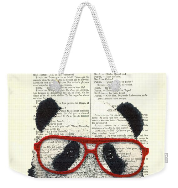 Panda Nursery Art Weekender Tote Bag