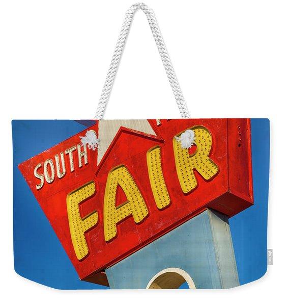 Panhandle South Plains Fair Sign Weekender Tote Bag