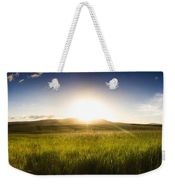 Panorama Landscape Weekender Tote Bag