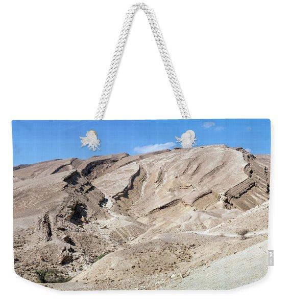 Panorama On Genesis Land Weekender Tote Bag