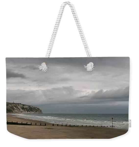 Weekender Tote Bag featuring the photograph Panoramic View Towards Culver by Clayton Bastiani