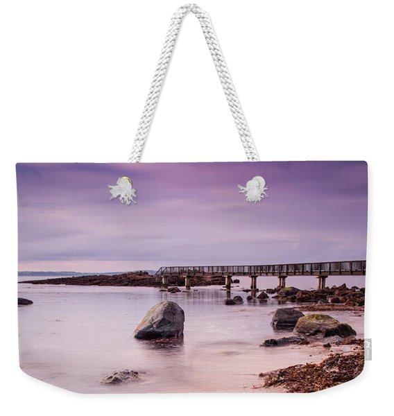 Pans Rocks Beach Weekender Tote Bag