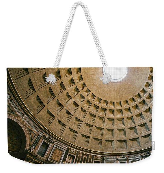 Pantheon Dome Interior Weekender Tote Bag
