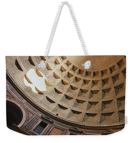 Pantheon Dome Sunbean Weekender Tote Bag
