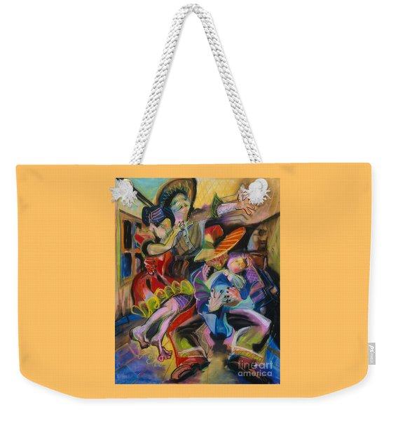 Papa And Bambino Weekender Tote Bag